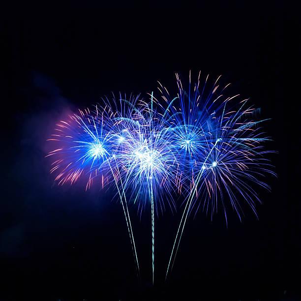 Bunte Feuerwerk – Foto