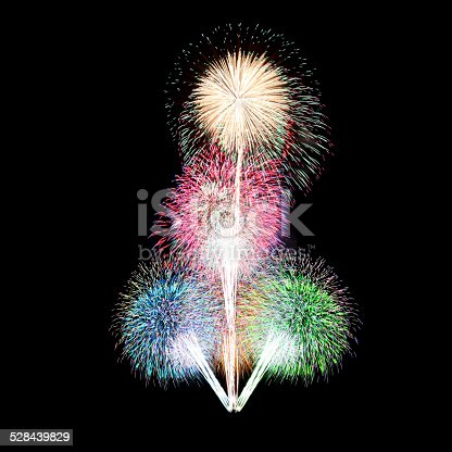 istock colorful fireworks. 528439829