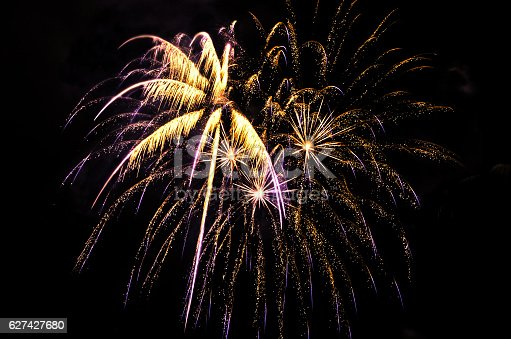 636207118istockphoto Colorful fireworks 627427680