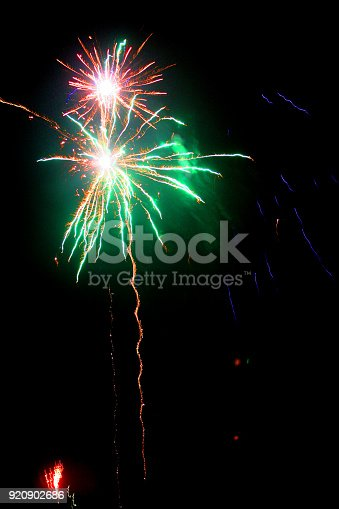 istock Colorful fireworks 920902686