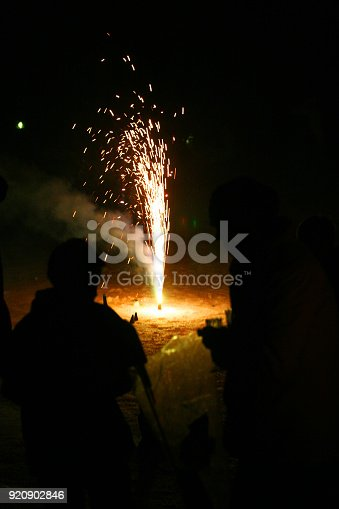 istock Colorful fireworks 920902846