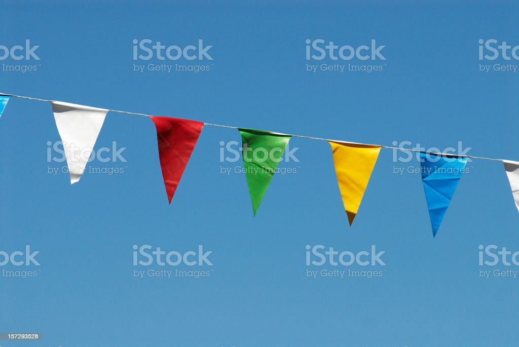 Colorful Flags royalty-free stock photo