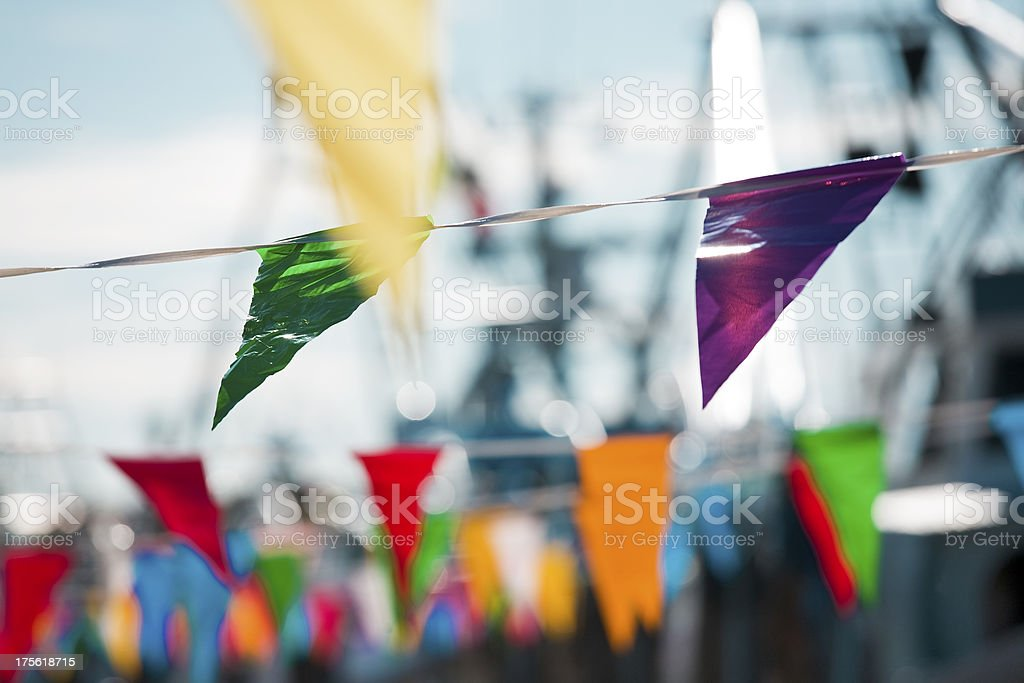 Colorful Flags stock photo