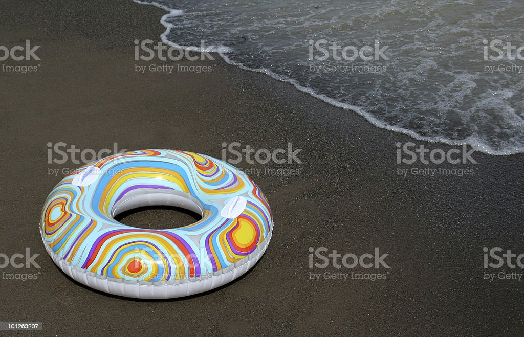 Colorful Float Ring Upclose royalty-free stock photo