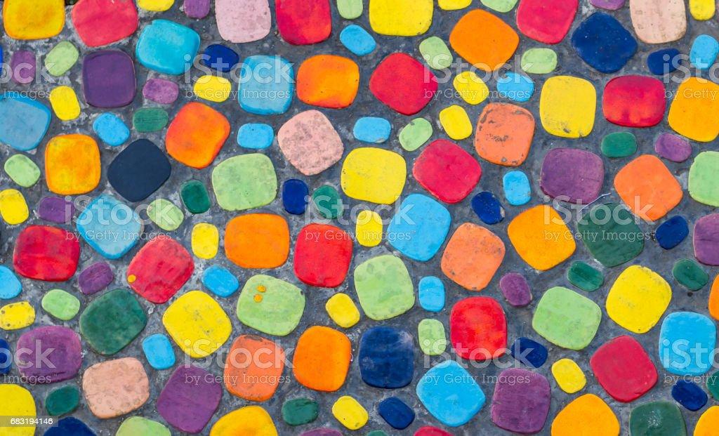 Colorful floor 免版稅 stock photo