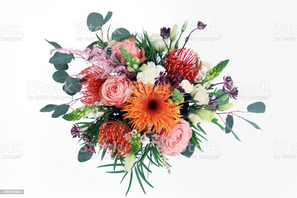 Cтоковое фото Colorful Flower Arrangement