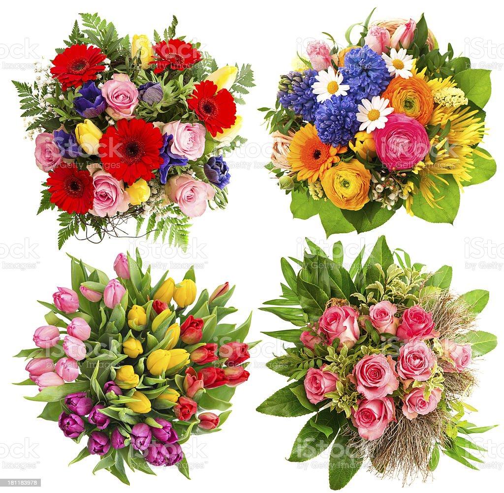Bouquet Di Fiori Colorato Per Compleanno Matrimonio