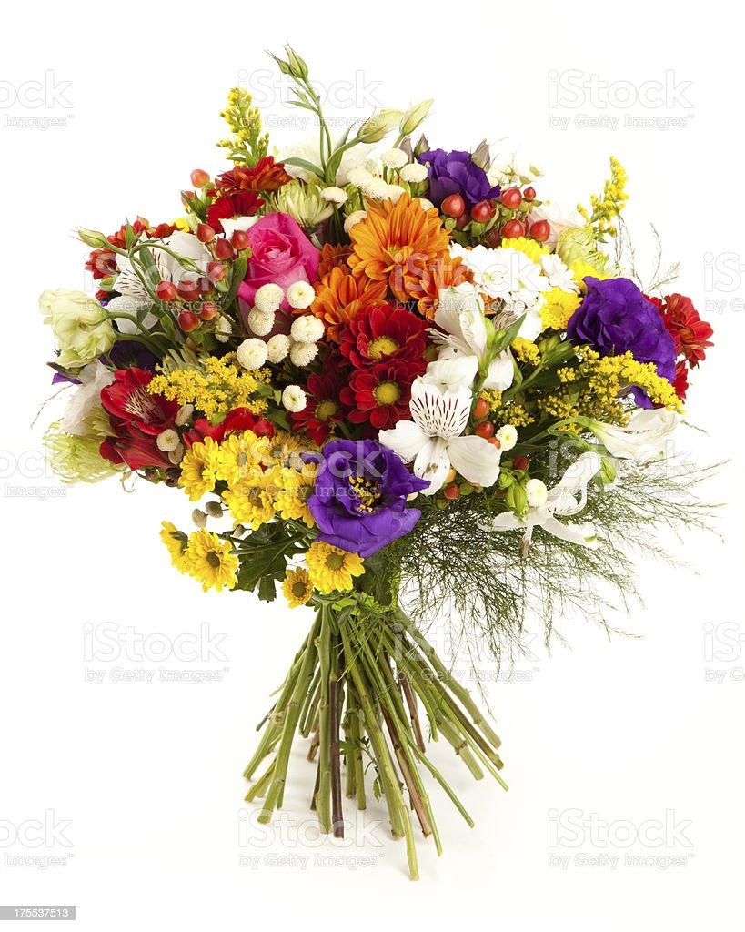 색상화 꽃 번치 - 로열티 프리 0명 스톡 사진
