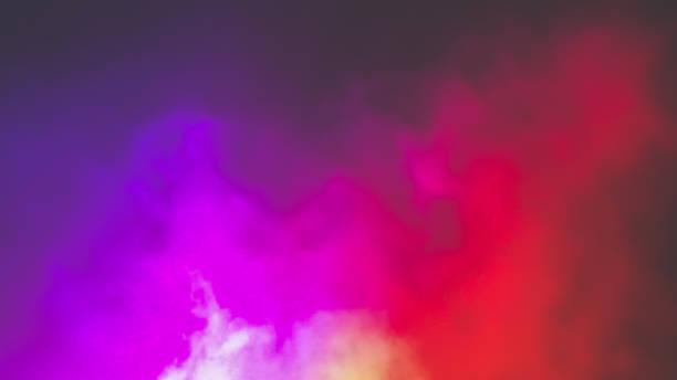 Colorful fog Colorful fod background nightclub stock pictures, royalty-free photos & images
