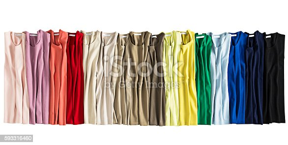 186826582 istock photo colorful folded clothes 593316460