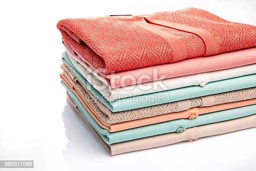 186826582 istock photo colorful folded clothes 593317086