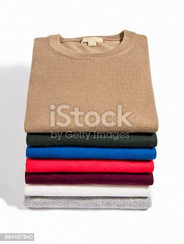 186826582 istock photo colorful folded clothes 594457940