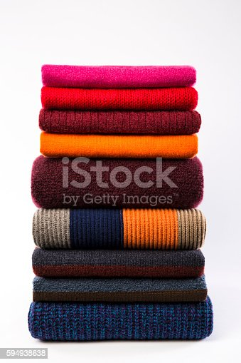 186826582 istock photo colorful folded clothes 594938638