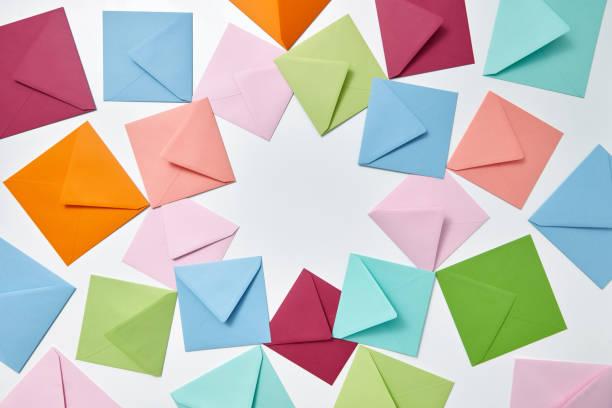 Colorful frame from empty handmade envelopes on a light background picture id1154091079?b=1&k=6&m=1154091079&s=612x612&w=0&h=1iojahs46 xkmvi5xqgchyipfynfwlibi 4ji8f3mii=