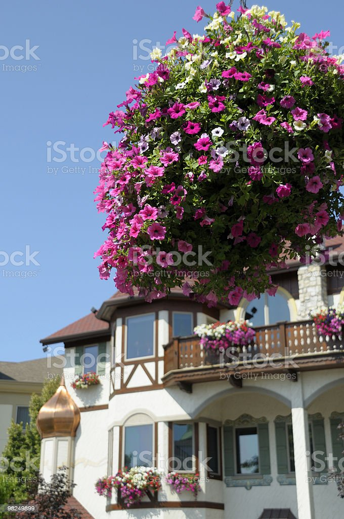 Colorful Frankenmuth, Michigan royalty-free stock photo