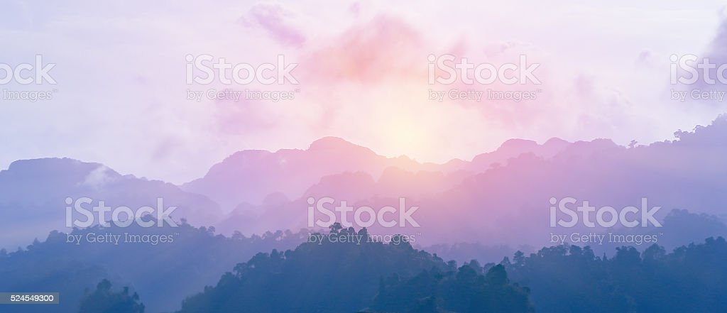 Colorful from sunrise stock photo