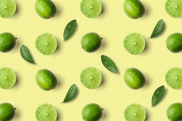 Bunte Obst Muster des limes – Foto