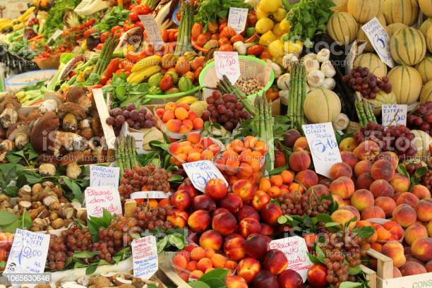 Colorful fruits and vegetables at a stall in the central market of picture id1065630646?b=1&k=6&m=1065630646&s=612x612&h=sshruyh14nv2fbjm gy n7of3wpytmse5bhltlppzvy=