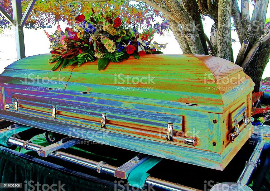 cercueil colore