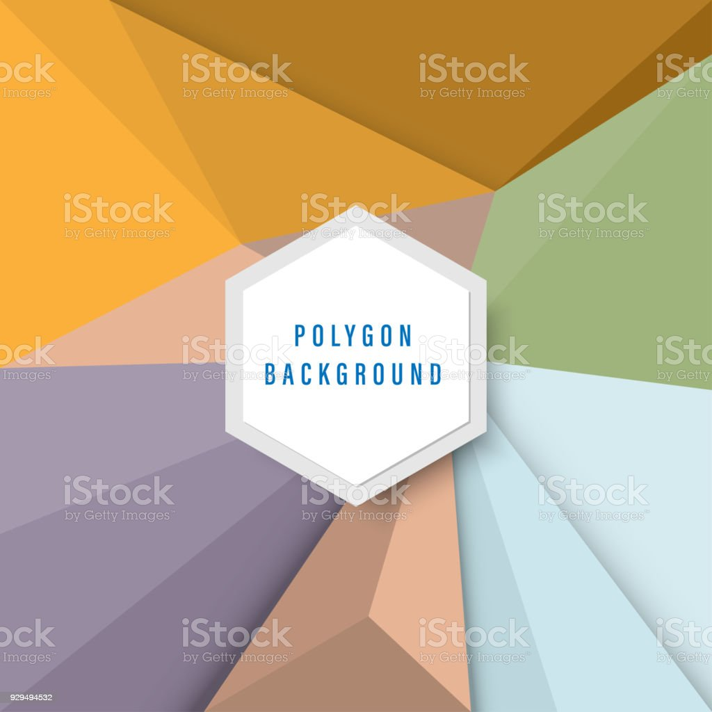 colorful geometric graphic background, abstract polygon stock photo