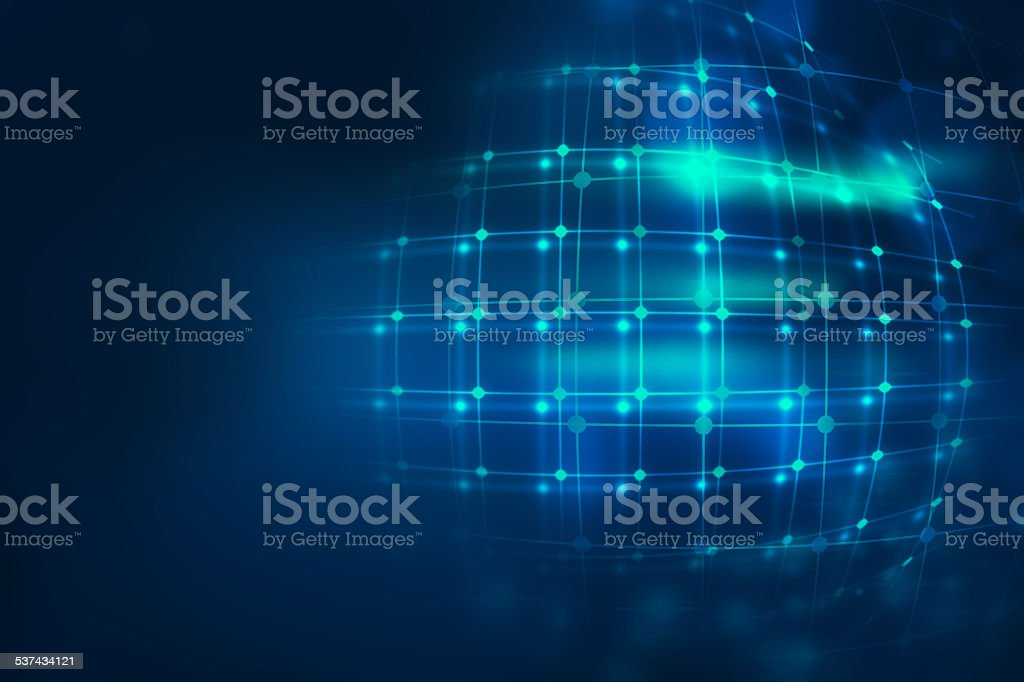 colorful  geometric grid  and blur abstract background stock photo