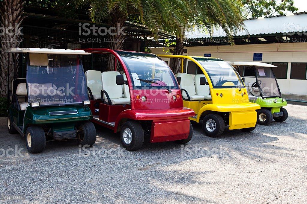 Coloré de voiturette de Golf - Photo