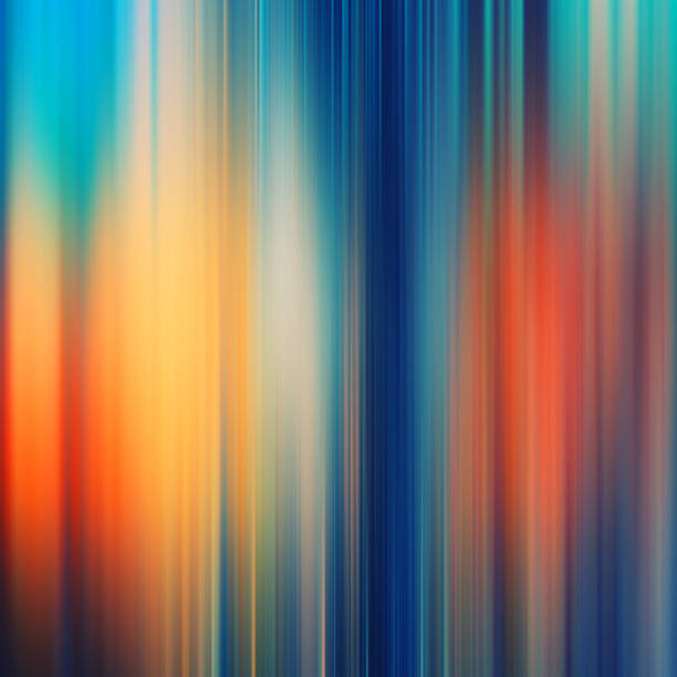 Gradiente de desenfoque de fondo colorido líneas - foto de stock