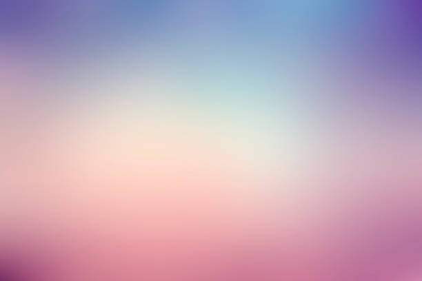 colorful gradient blur background colorful gradient blur background pastel colored stock pictures, royalty-free photos & images