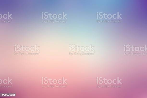 Photo of colorful gradient blur background