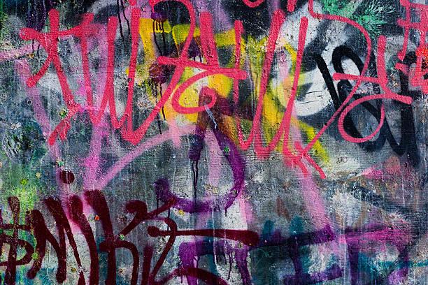colorful graffiti - duvar yazısı stok fotoğraflar ve resimler