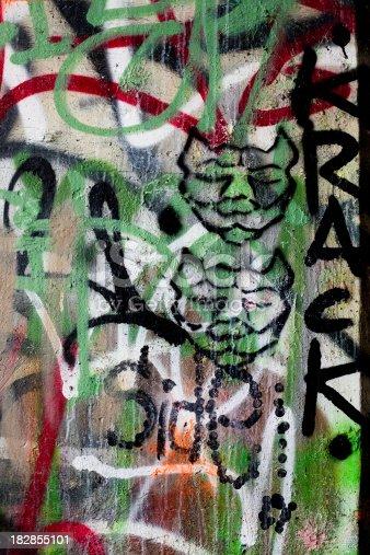 506166130 istock photo colorful graffiti 182855101
