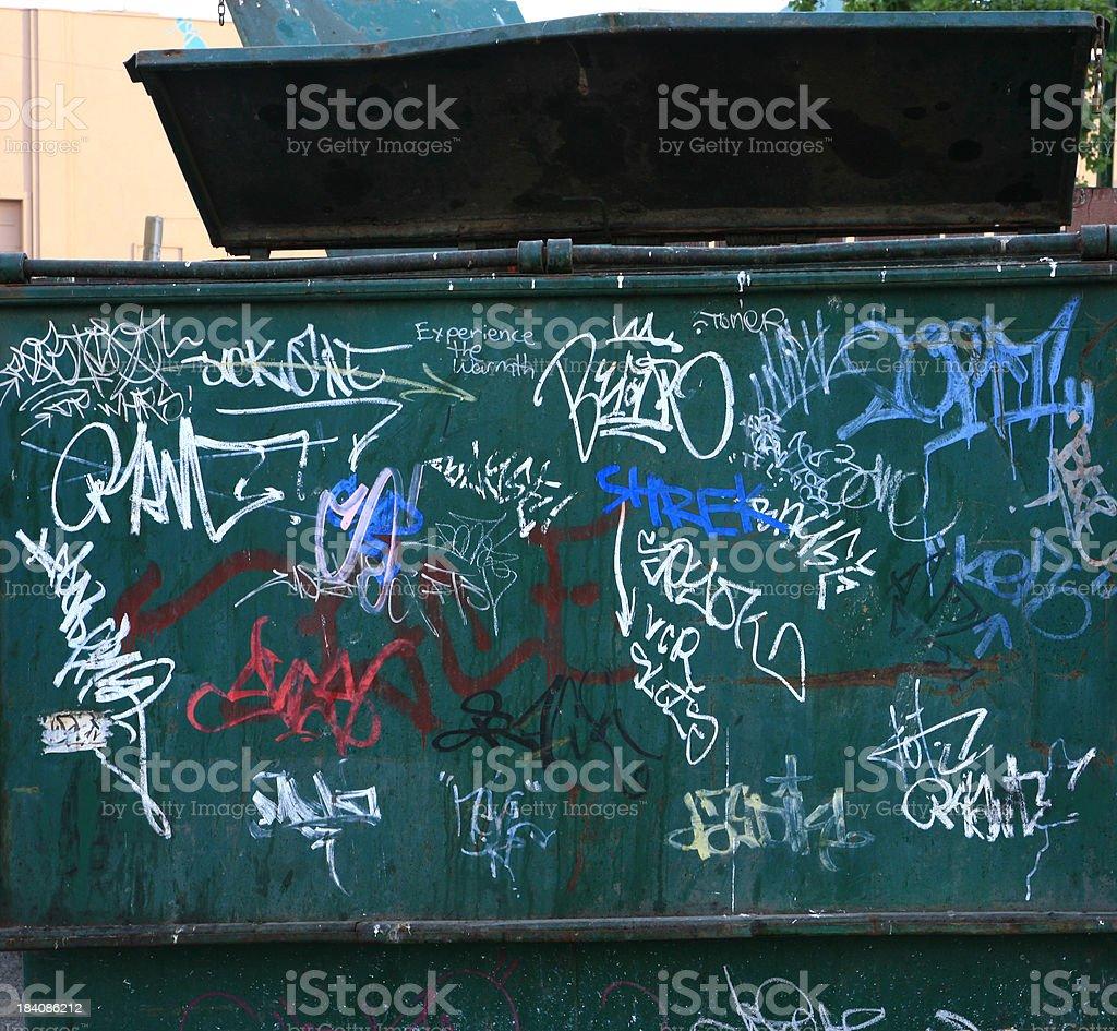 Colorful Graffiti Street Art royalty-free stock photo