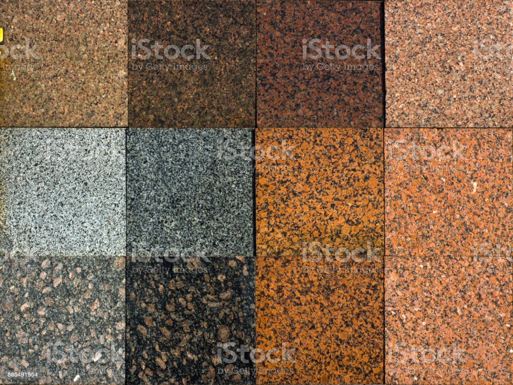 Colorful granite tiles texture. Abstract Granite tiles background. stock photo