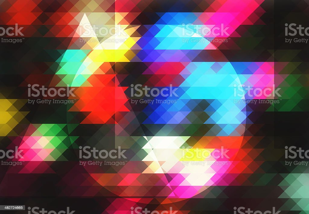 Colorful graphic royalty-free stock photo