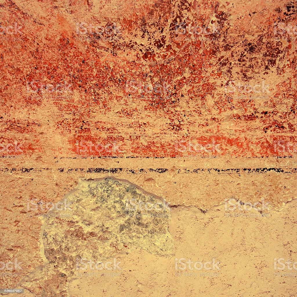 Colorful grunge textured wall background stock photo