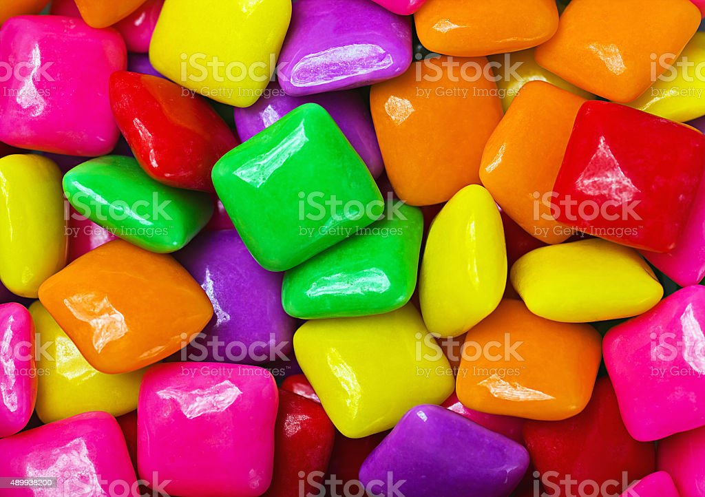 colorful gum background stock photo