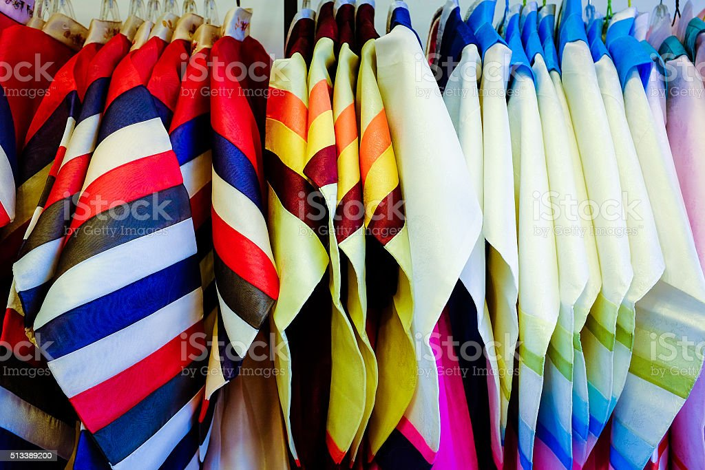 Colorful Hanbok stock photo