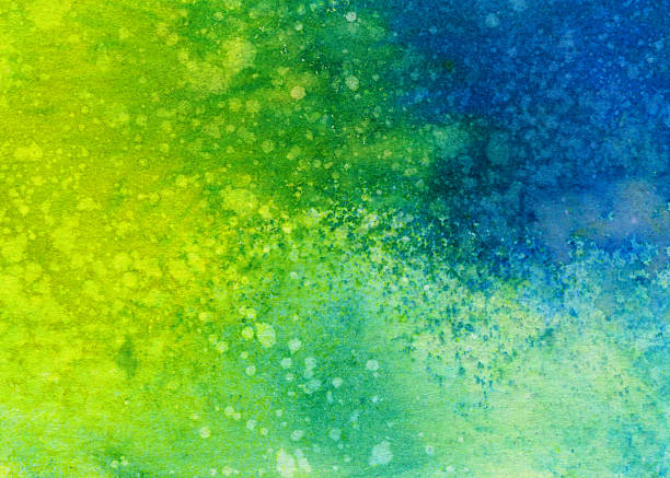 Colorful hand painted textured background