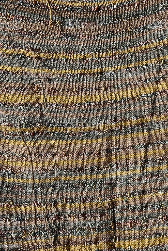 Colorful handmade knitted texture royalty-free stock photo