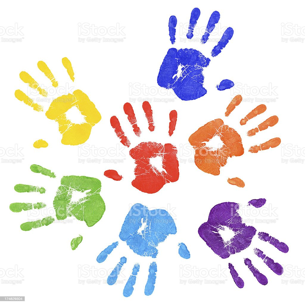 Royalty Free Handprint...