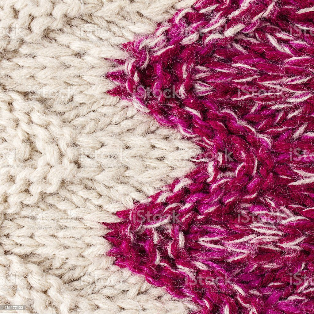 Colorful Happy Knitting background texture. High resolution Knit royalty-free stock photo
