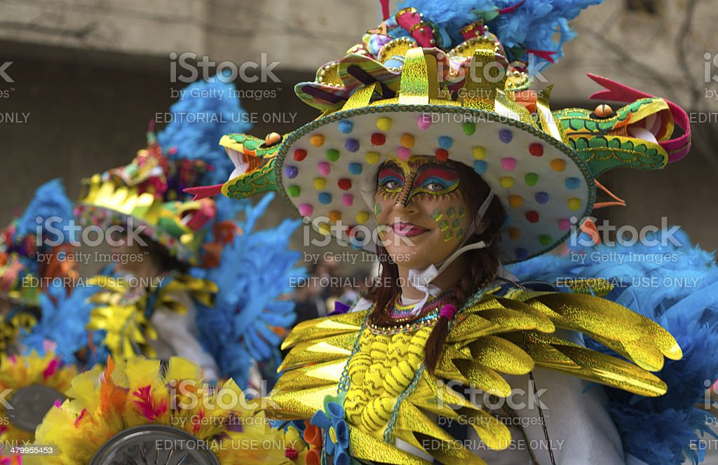 Colorful hat stock photo