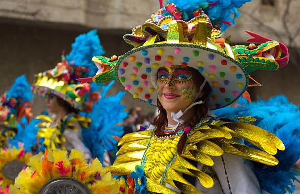 Sombrero de colores - foto de stock