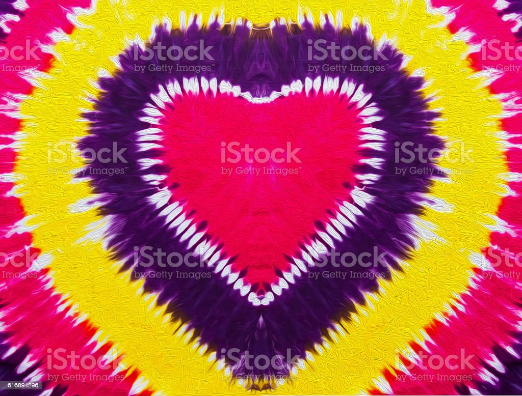 Colorful heart sign . stock photo