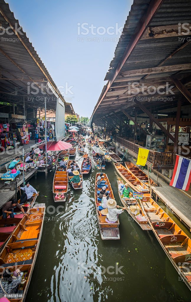 Colorful holiday (Thailand) stock photo