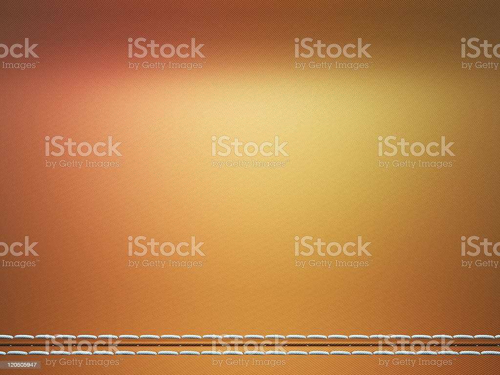 Colorful horizontally stitched fabric royalty-free stock photo