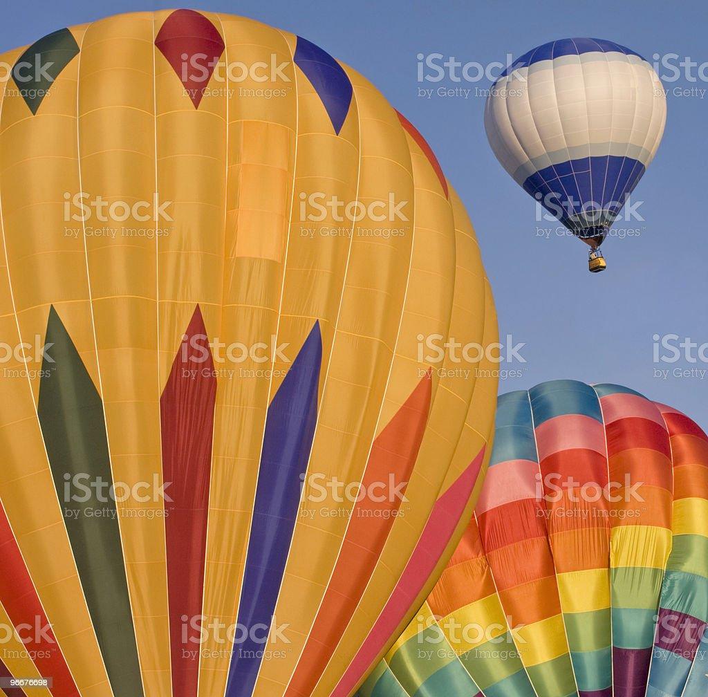 Colorful Hot Air Ballons stock photo