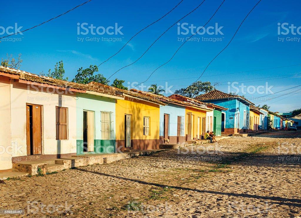Coloridas Casas En Trinidad Cuba Foto De Stock Y Mas Banco De