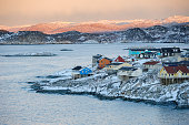 istock Colorful Ilulissat in Sunset, Greenland 491276538
