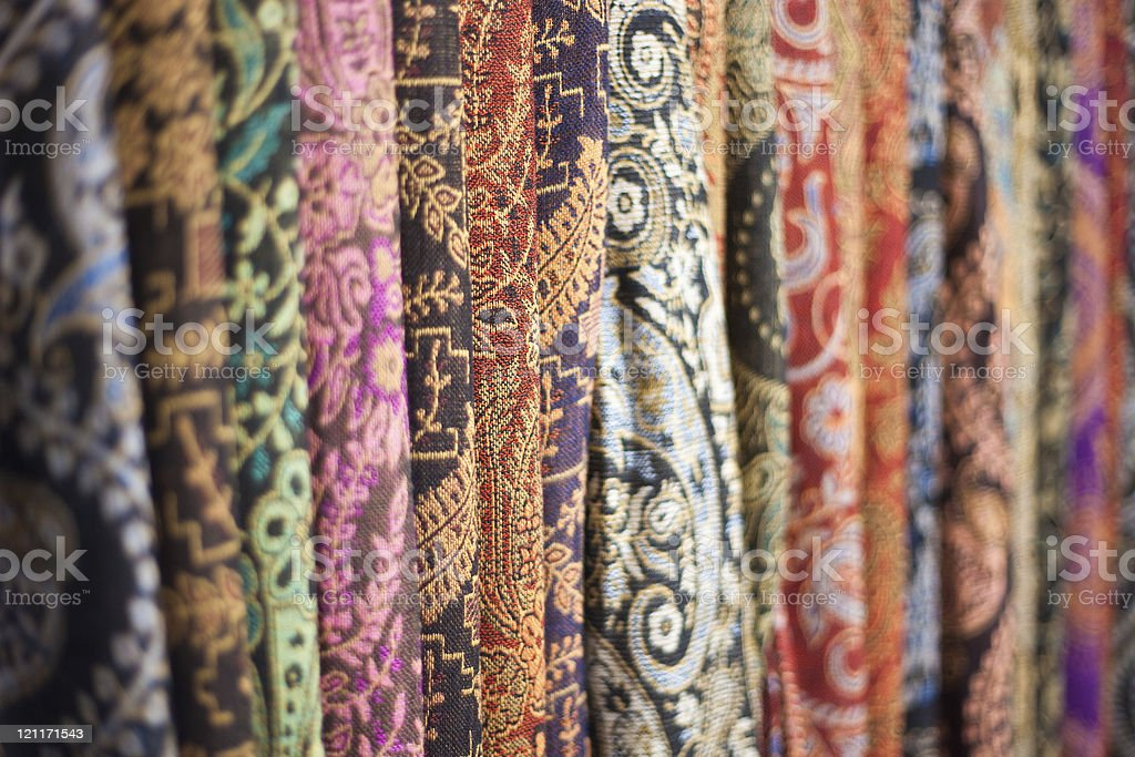 Colorful Indian Clothing royalty-free stock photo